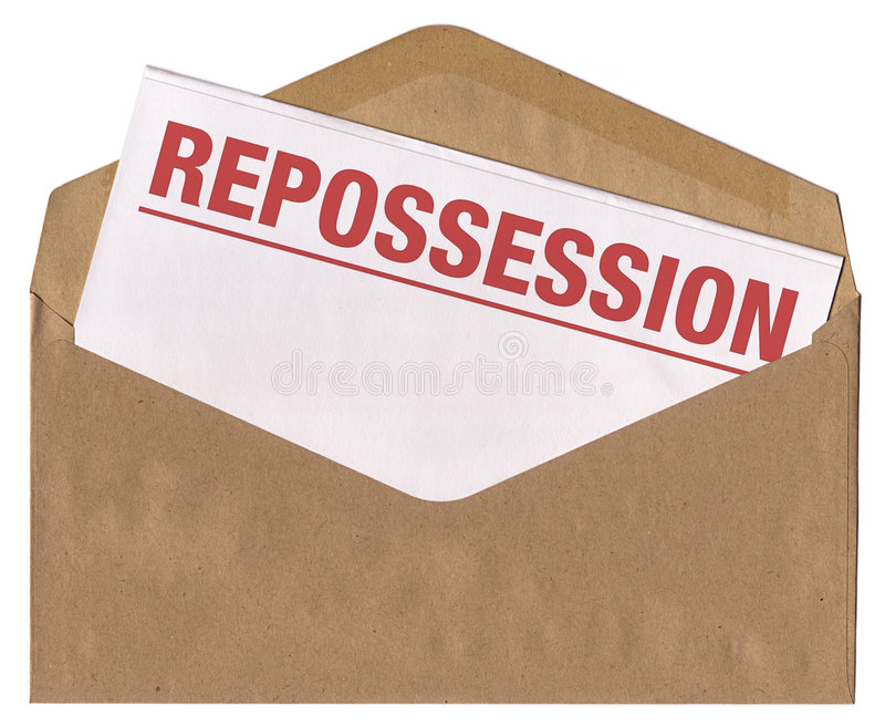 Download Envelope - Repossession Notice Letter Stock Photo - Image: 5131944