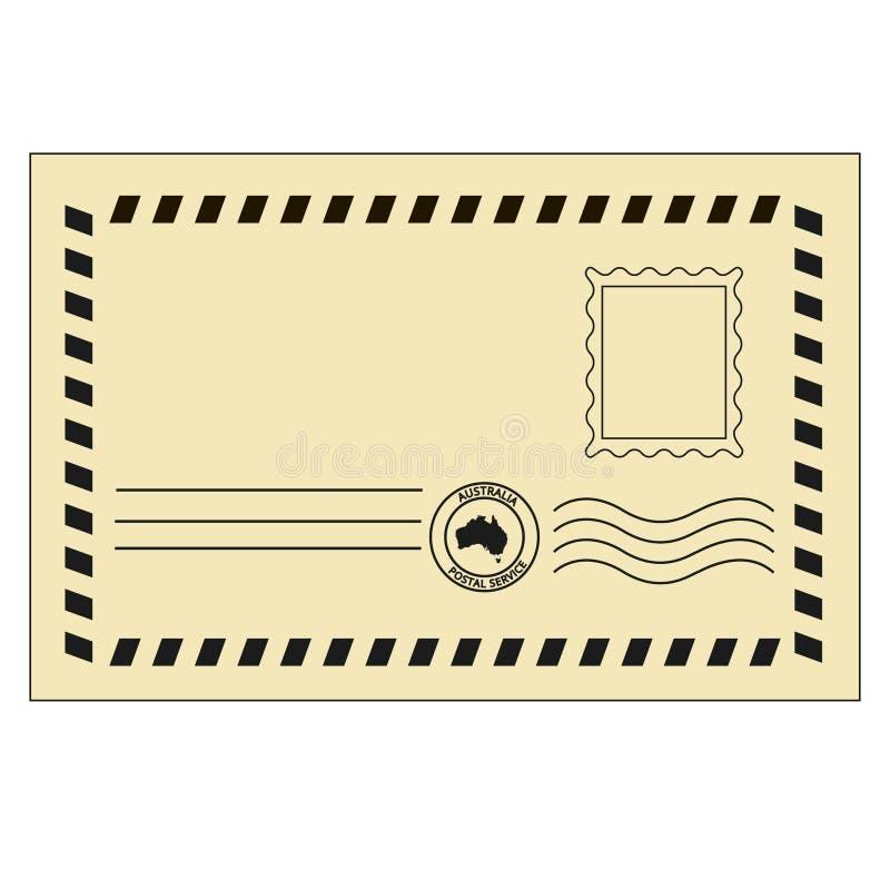 Envelope retro fotos de stock royalty free
