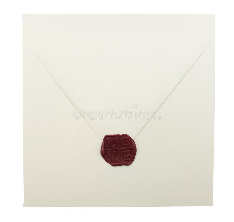 Envelope selado foto de stock royalty free