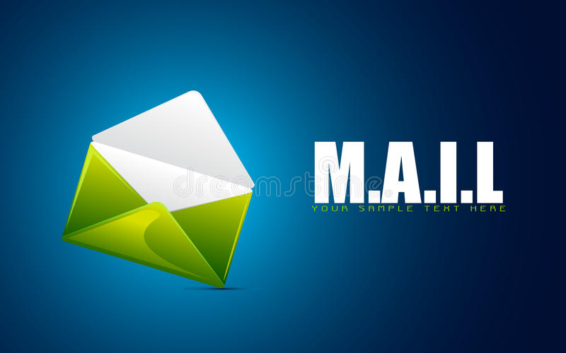 Envelope Showing Mail Royalty Free Stock Photography