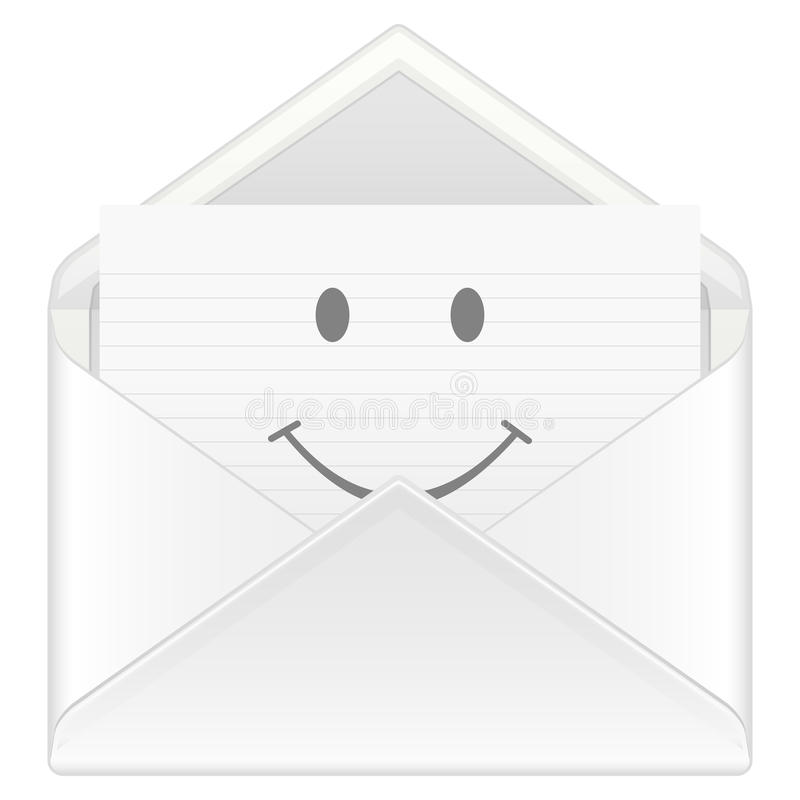 Download Envelope smile stock vector. Illustration of isolated - 15613363