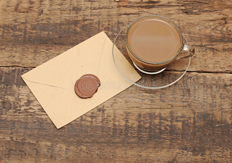 Download Envelope With Wax Seal Stock Image - Image: 24116991