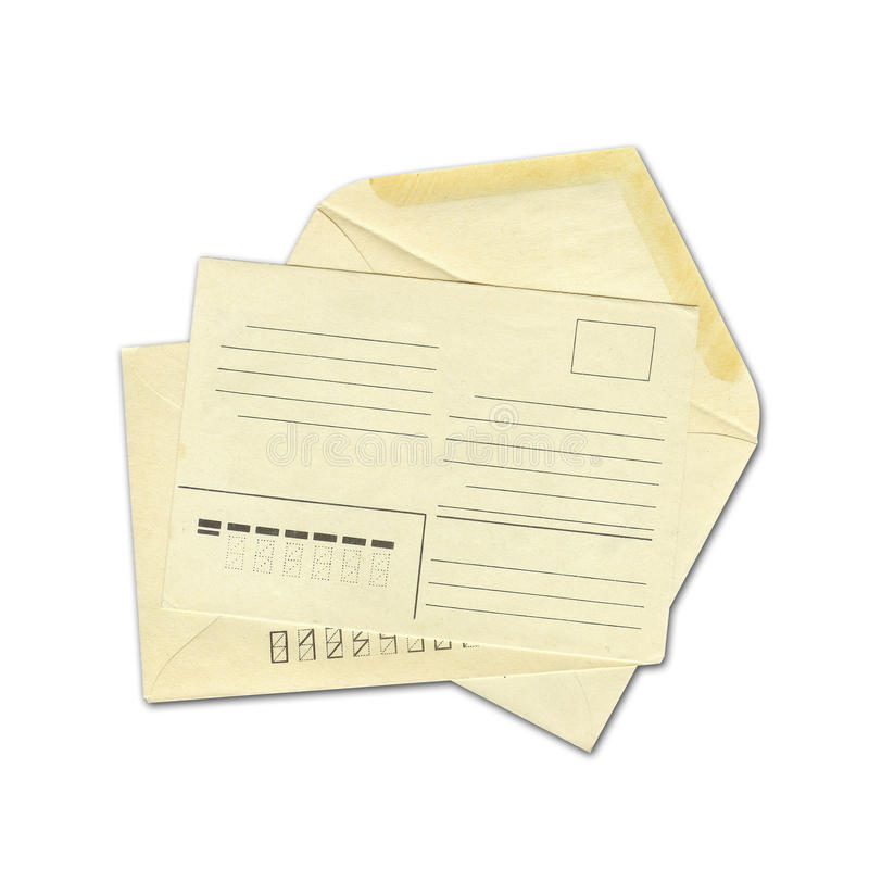 Envelopes imagens de stock royalty free