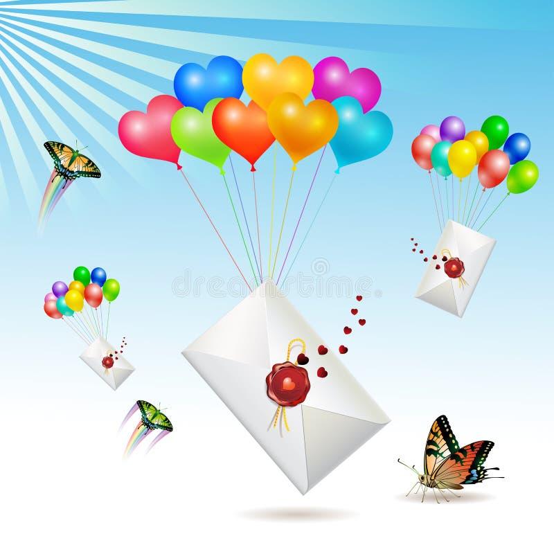 Download Envelopes with stock vector. Illustration of mail, corner - 17891311