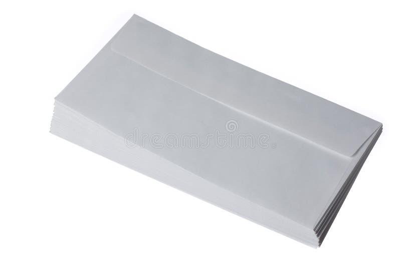 Envelopes Stack stock image