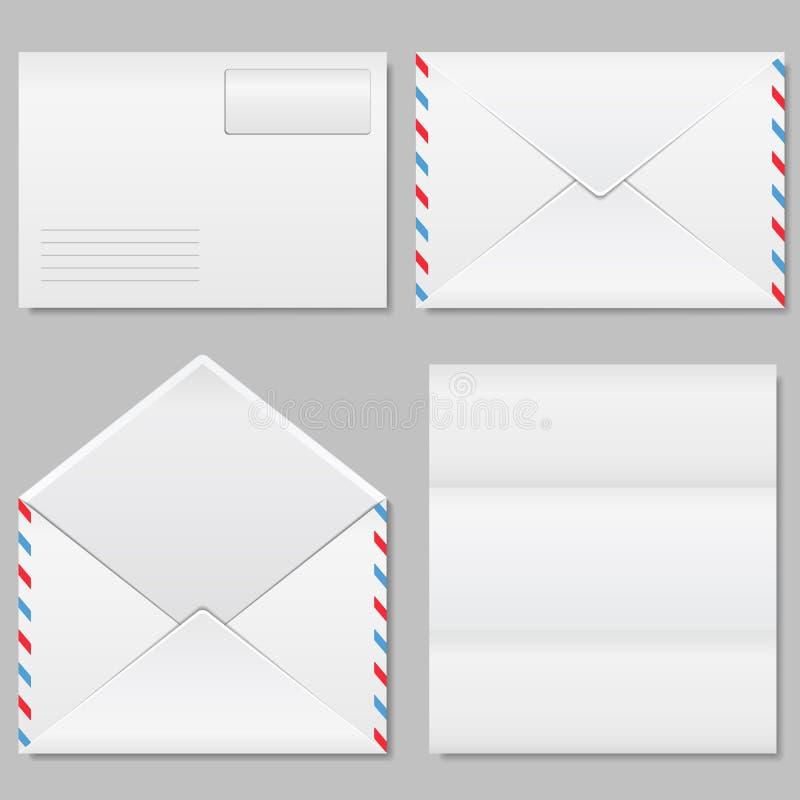 Envelopes ilustração royalty free