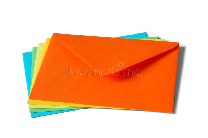 Envelopes stock photo