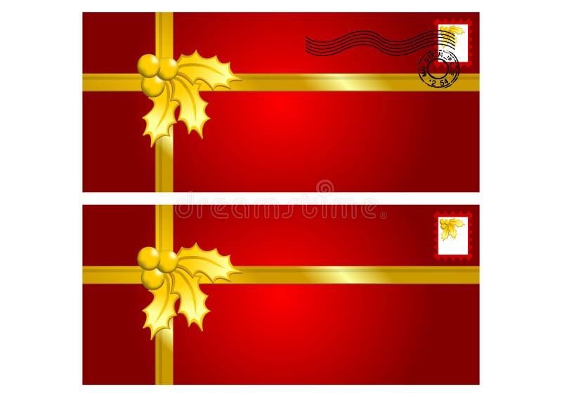 Envelopes Ornamented ilustração royalty free