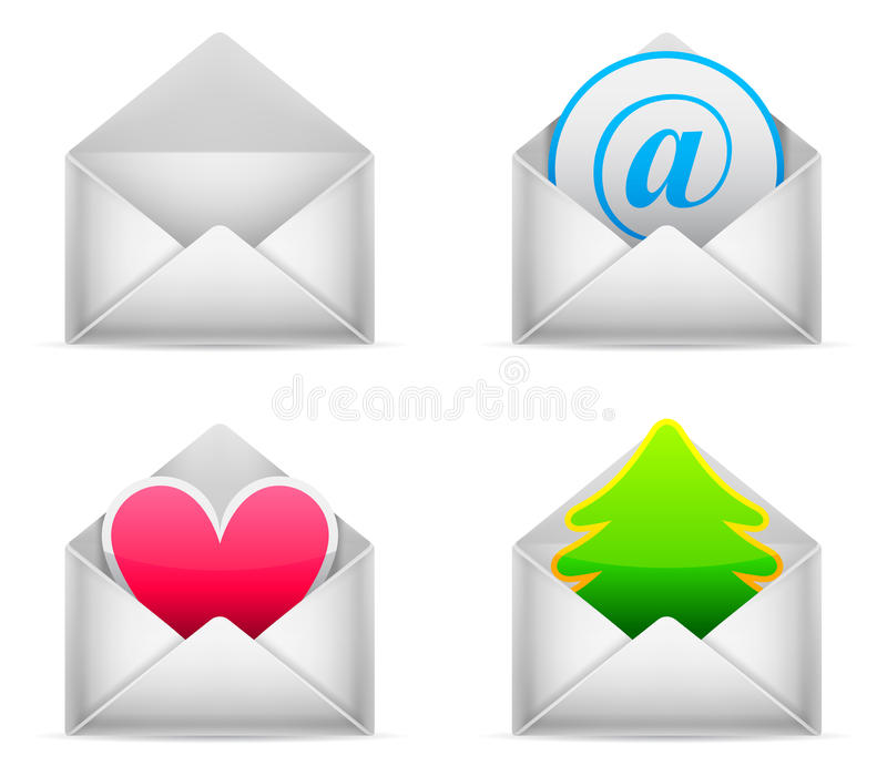 Envelopes. Stock Image