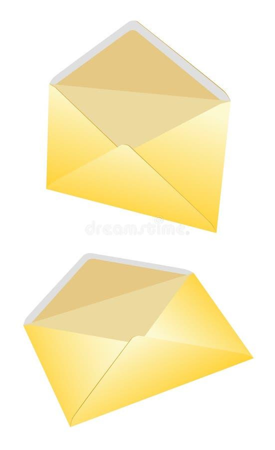 Envelopes - vector image stock illustration