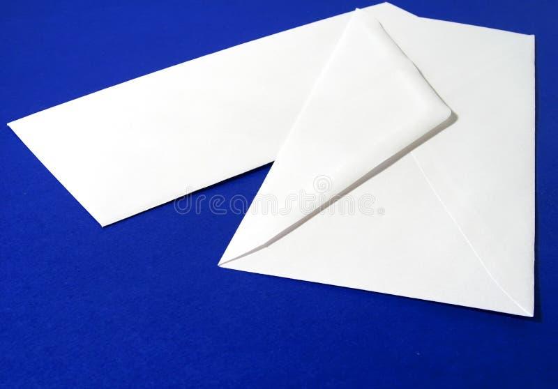 Download Enveloppe blanche blanc photo stock. Image du papeterie - 90794