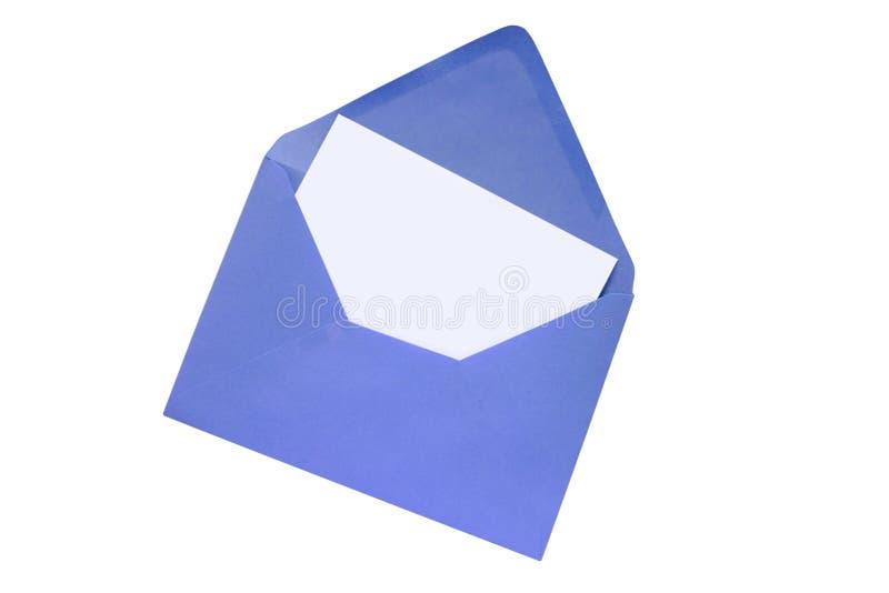 Enveloppe colorée images stock