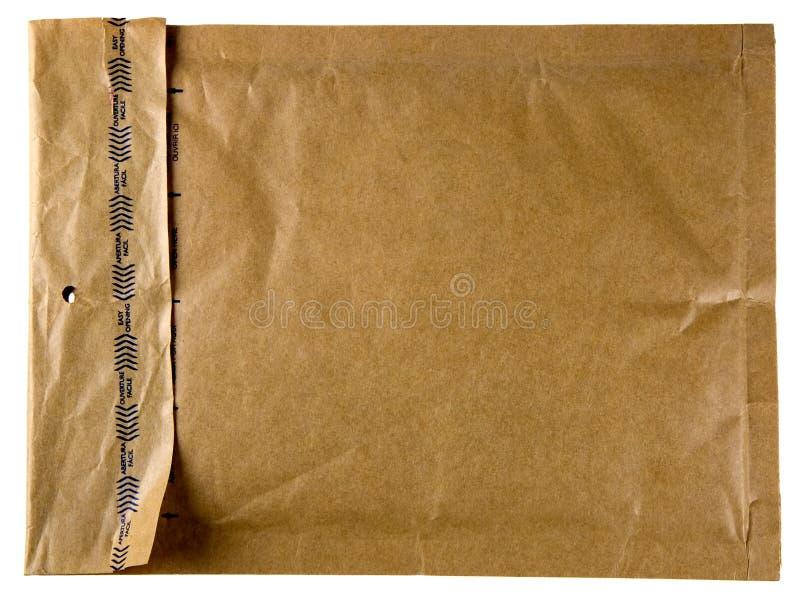 Enveloppe de Brown image libre de droits