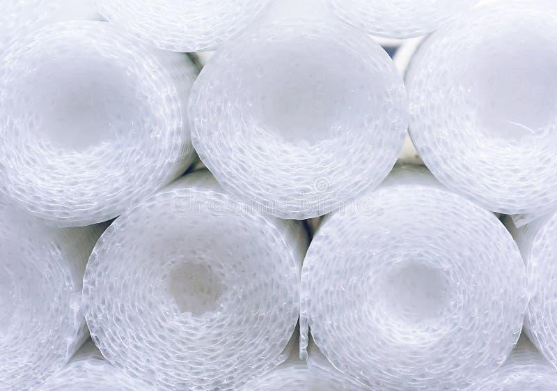 Enveloppe de bulle en petits pains Fond d'enveloppe de bulle photographie stock