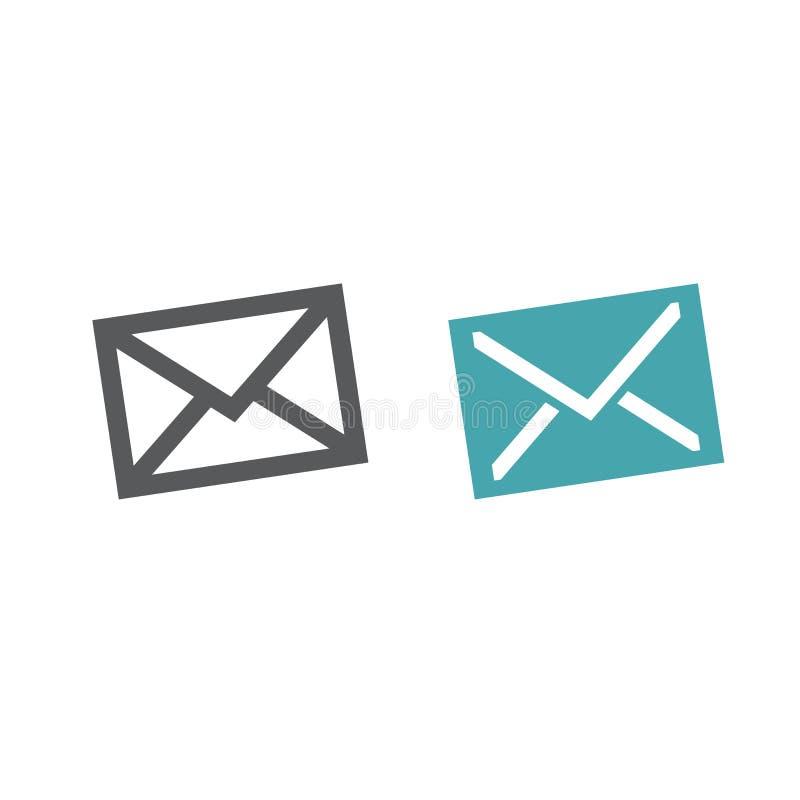 Enveloppe de courrier vecteur prêt d'image d'illustrations de téléchargement illustration libre de droits