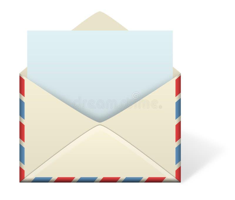 Enveloppe de lettre illustration libre de droits