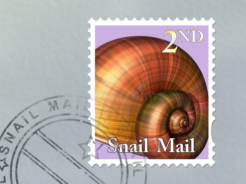Enveloppe De Snail Mail Image libre de droits