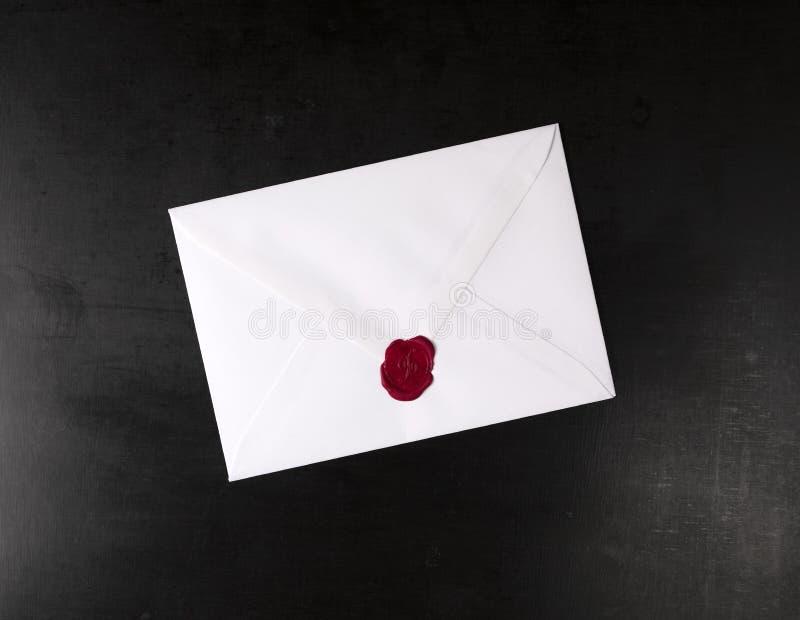 Enveloppe fermée photo libre de droits