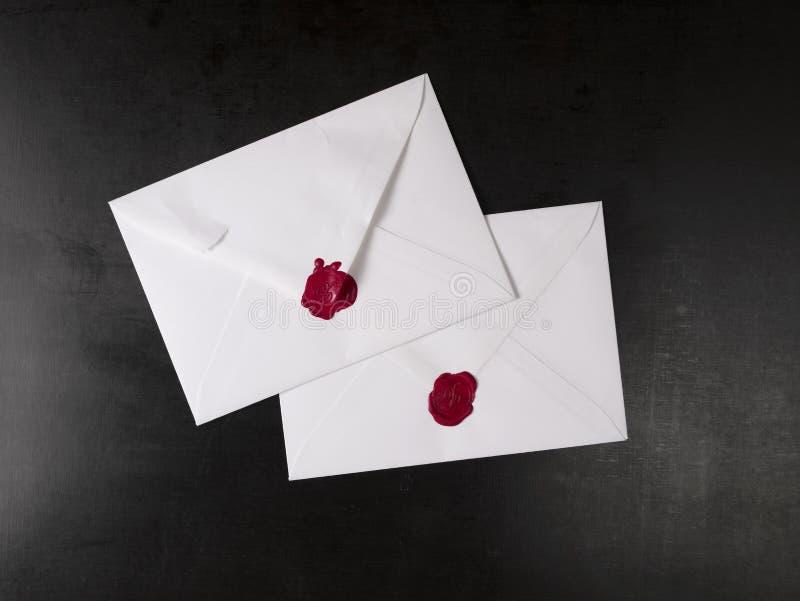 Enveloppe ouverte photo libre de droits