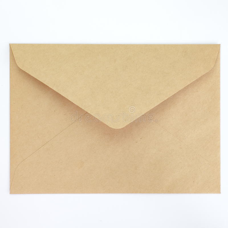 Enveloppe vide images stock