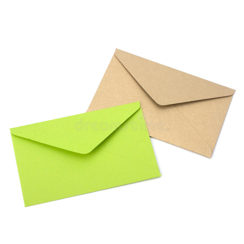 Enveloppen stock foto
