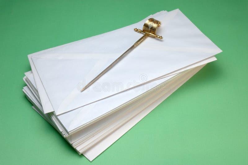 Enveloppen stock fotografie