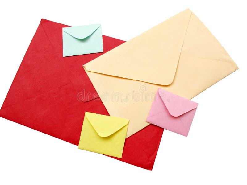 Enveloppes images libres de droits