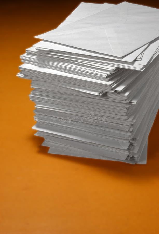 Enveloppes photo stock