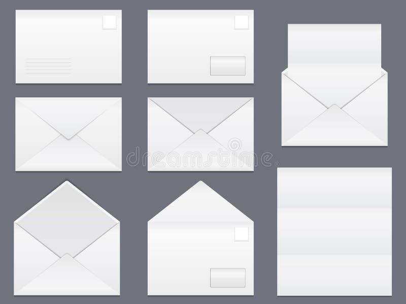 Enveloppes illustration stock