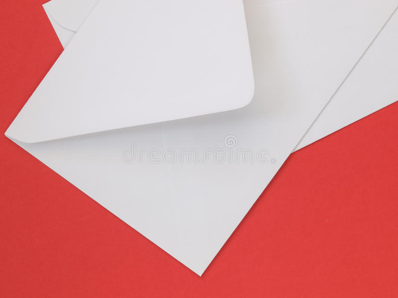 Enveloppes blanches image stock