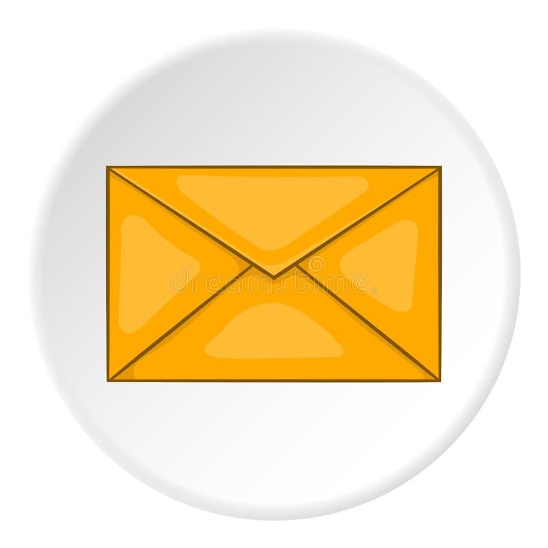 Enveloppictogram, beeldverhaalstijl vector illustratie