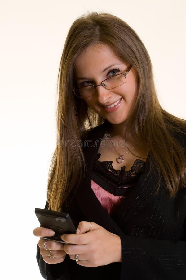 Envio de mensagem de texto imagem de stock royalty free