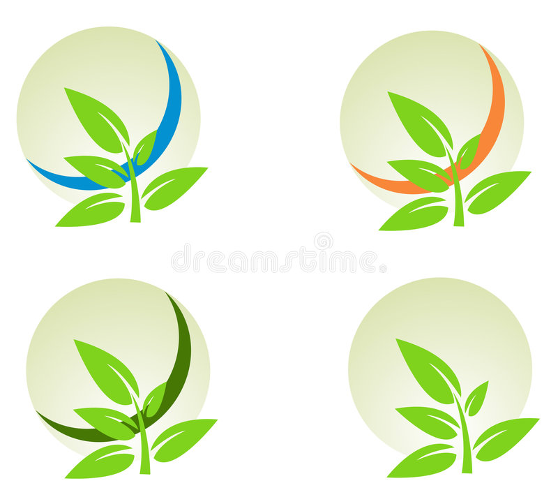 Envir de positionnement d'éléments de logo de vecteur illustration de vecteur