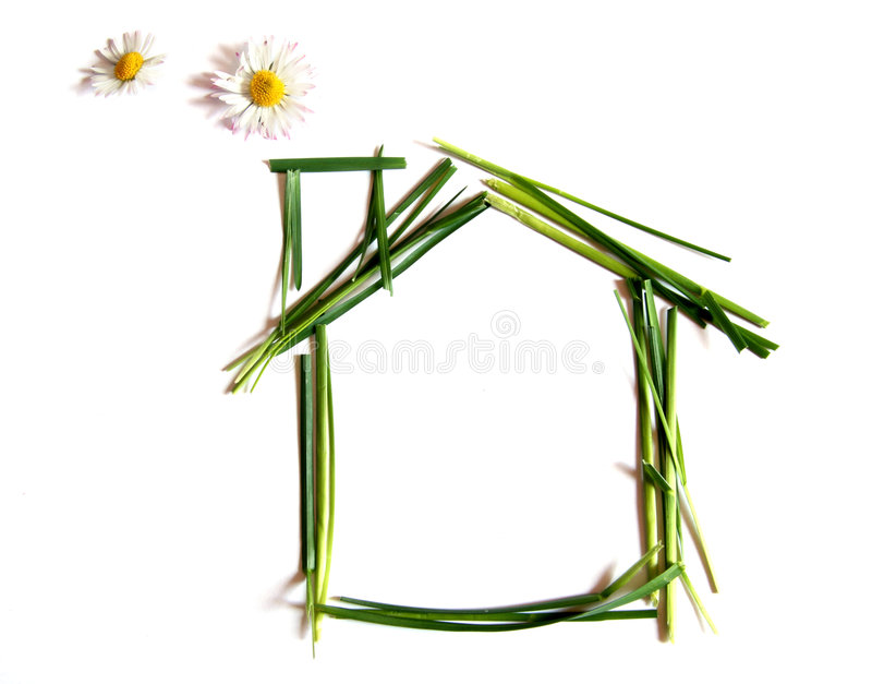 Download Environemtally Friendly House Stock Illustration - Image: 5018597