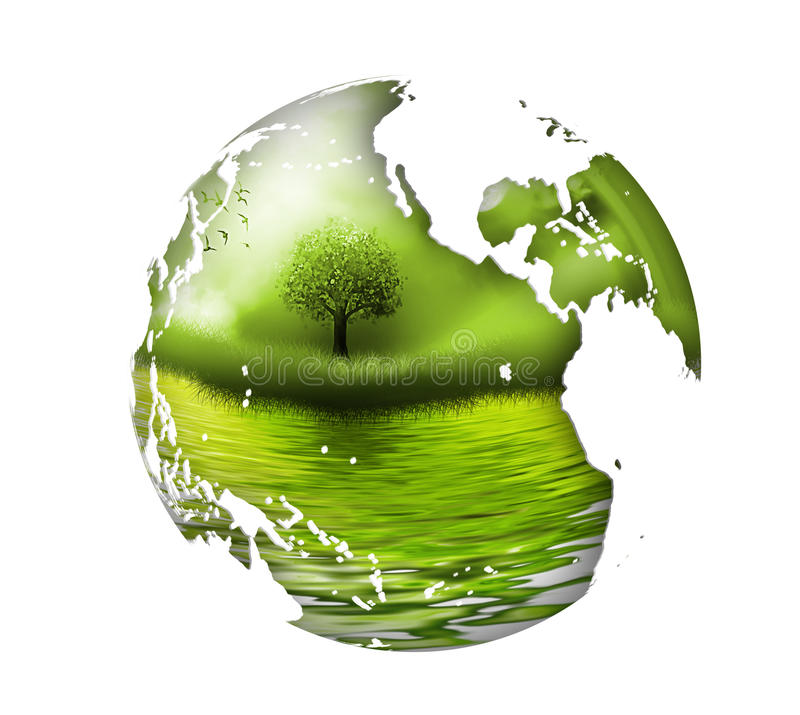 Download Environment stock illustration. Image of globe, business - 26134821