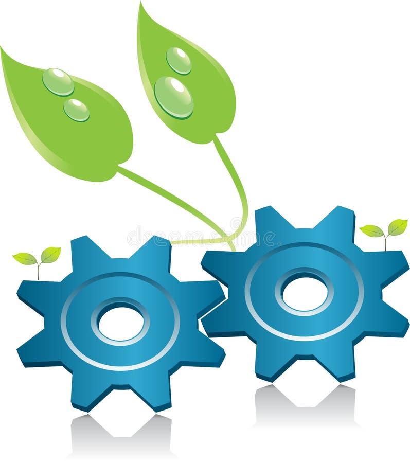 Download Environment energy symbol stock illustration. Illustration of pinion - 11719862