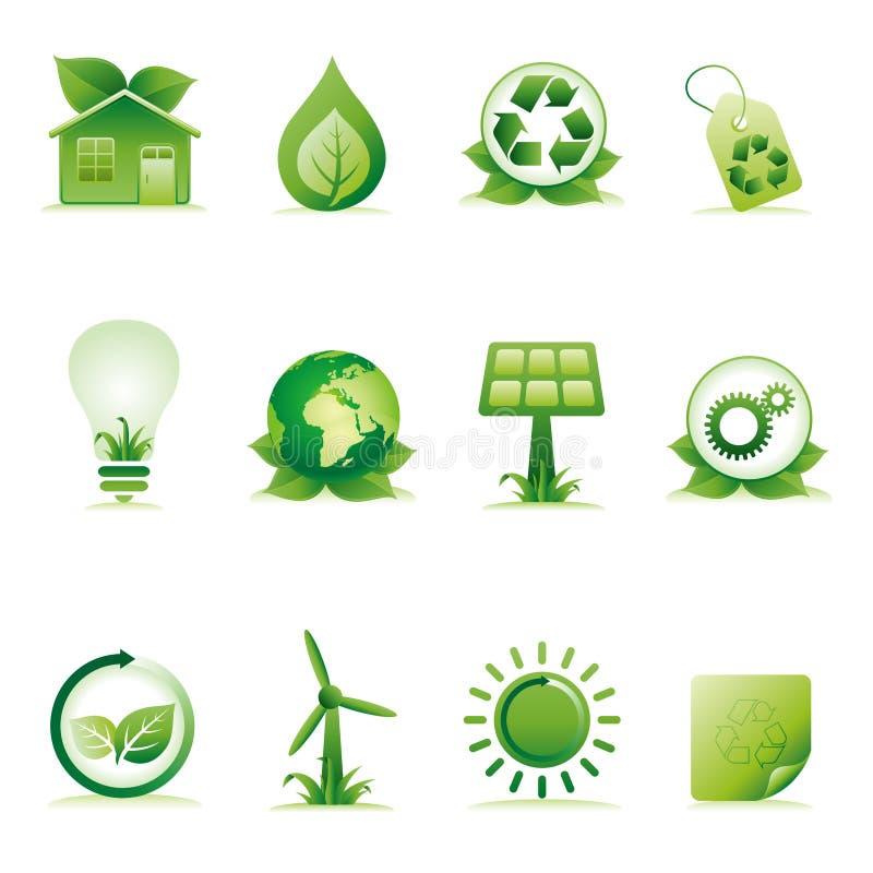 Download Environment Icon Set Stock Image - Image: 18569411