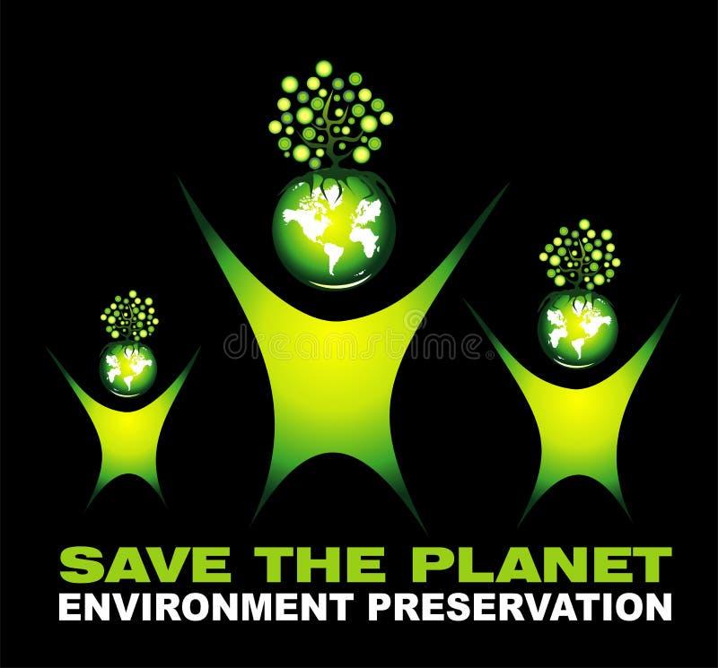 Environment Saving background royalty free stock image