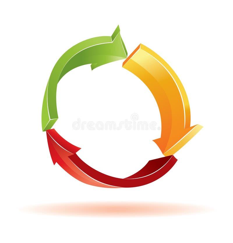 Download Environmental 3d  symbol stock vector. Illustration of icon - 13058434