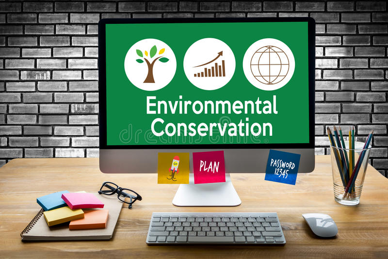 Environmental Conservation Life Preservation Protection Growth P royalty free stock photos