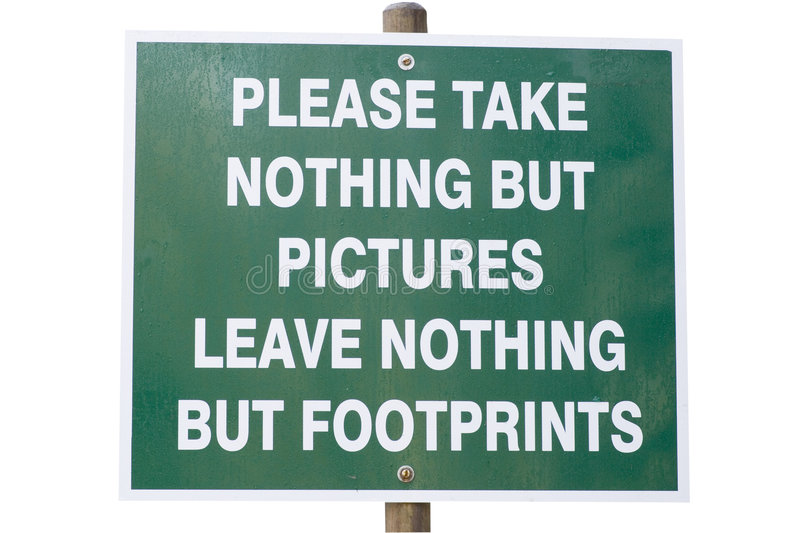 Download Environmental Conservation Sign Stock Photo - Image: 4408196