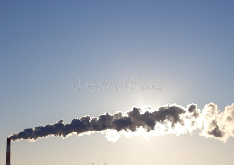 Environmental contamination stock photography