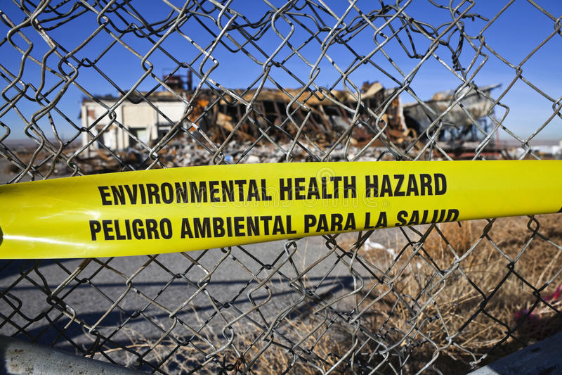 Environmental Health Hazard stock images