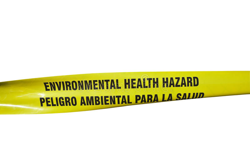 Download Environmental Health Hazard Tape Stock Photo - Image of toxic, material: 18128636
