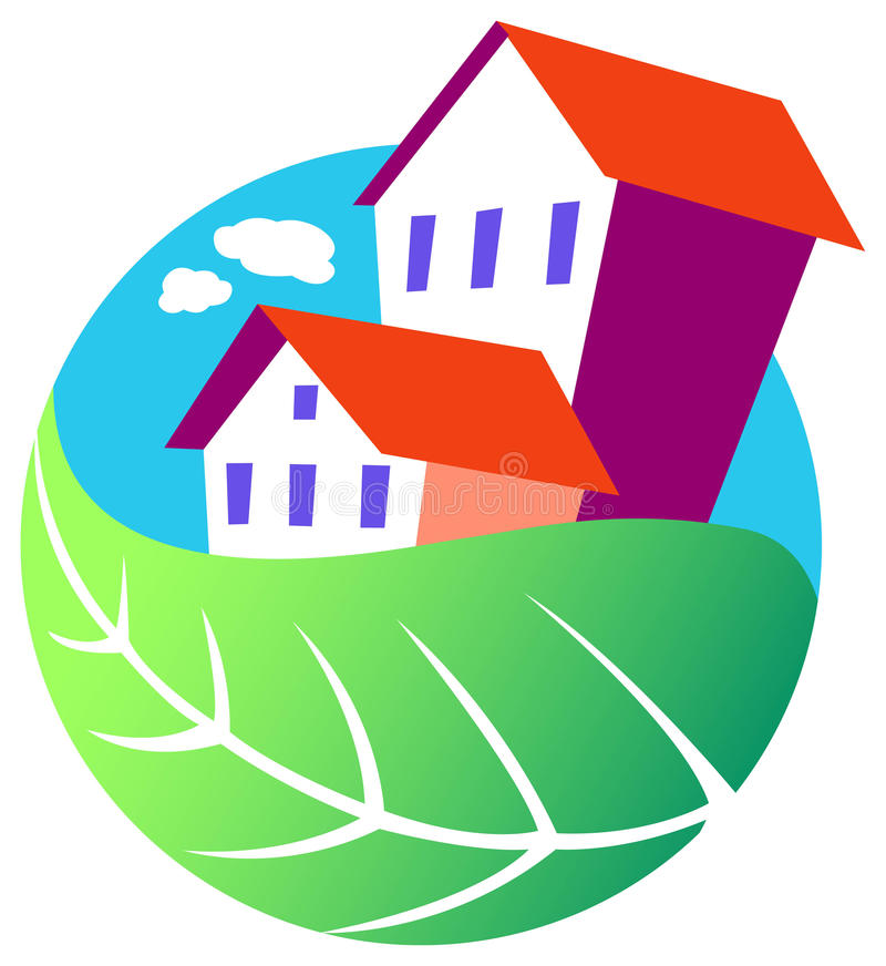 Download Environmental house stock vector. Illustration of icon - 17321275