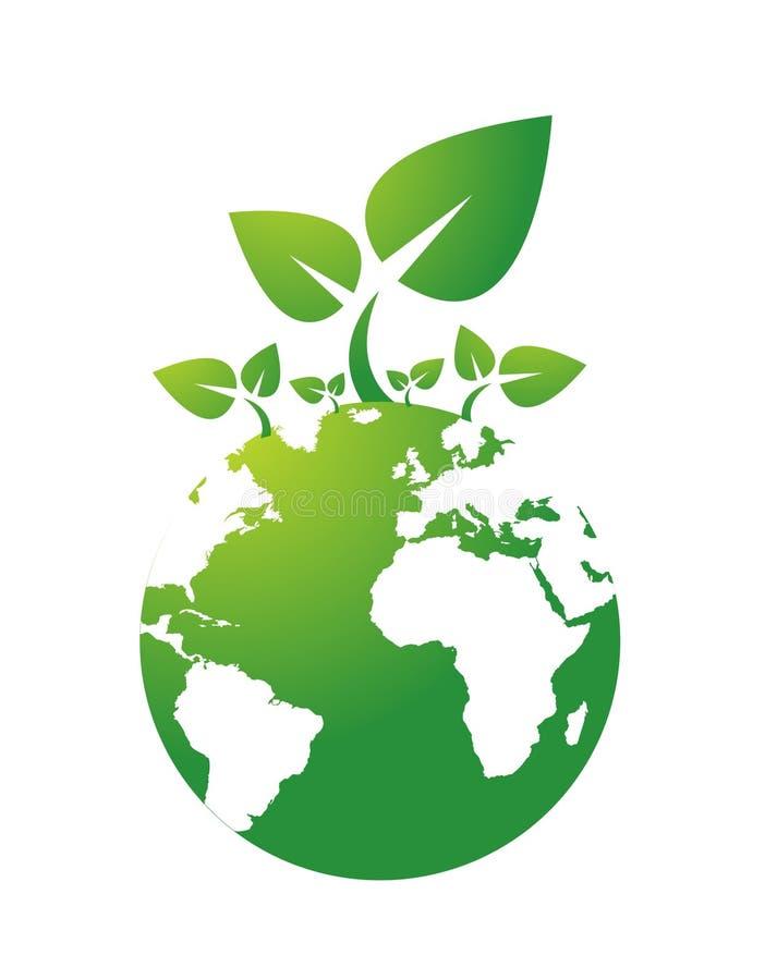 Environmental icon royalty free illustration