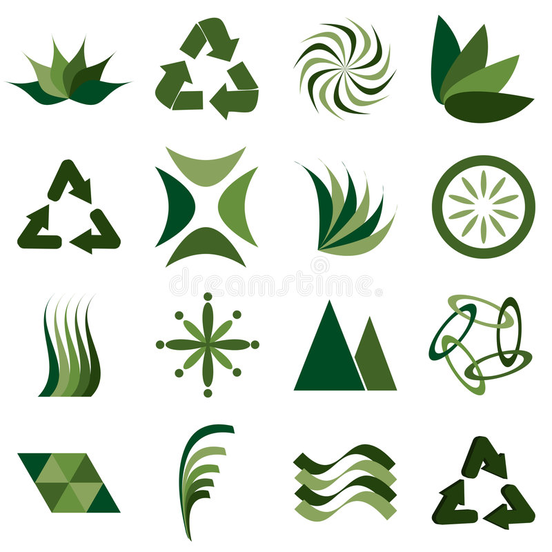 Download Environmental icons stock vector. Image of illustration - 6408493