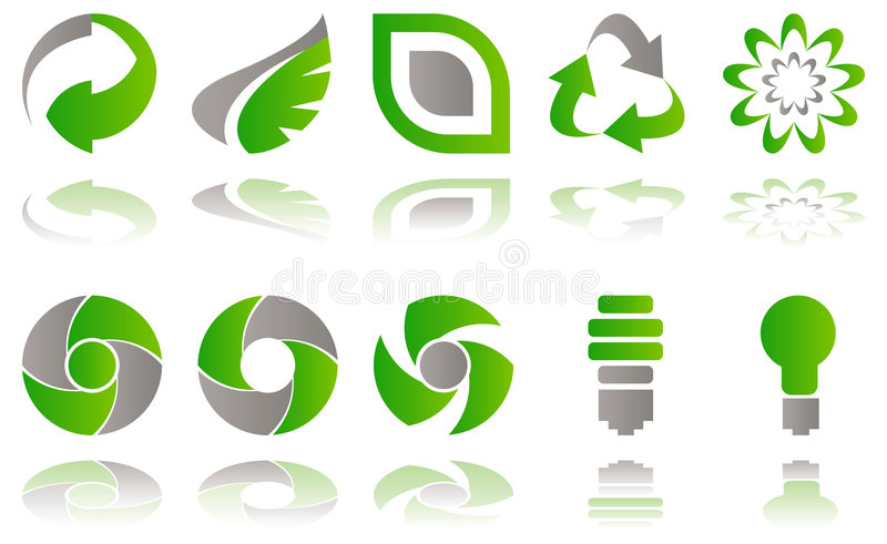 Download Environmental icons stock vector. Illustration of emission - 8311050
