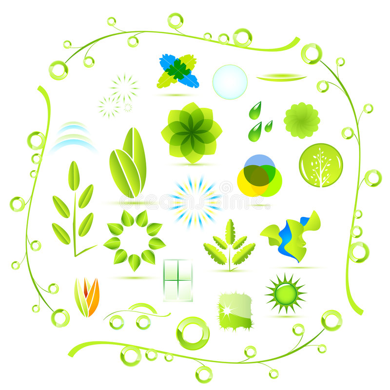 Environmental icons stock illustration