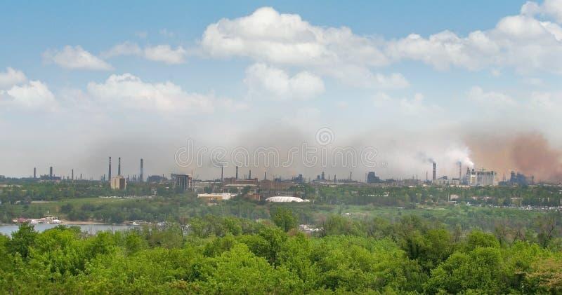 Download Environmental pollution stock photo. Image of horizon - 15056594